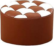 D_HOME DLDL Round Short Coffee Table Sgabello Home