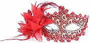 Daliuing donne masquerade Mask Bright color Flower