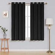 Deconovo Decorative Curtains for Bedroom Tende,