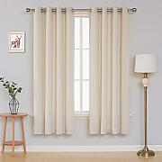Deconovo Velvet Curtains for Bedroom Tende,