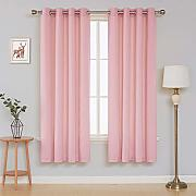 Deconovo Velvet Curtains for Bedroom Tende, Baby