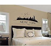 Decorazione domestica Grande New York City Skyline