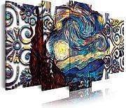 Wandbehänge Van Gogh un paio di scarpe design quadro stampa