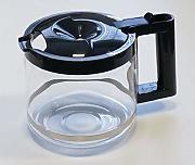 Caraffa IN VETRO DI RICAMBIO PER DELONGHI CAFFETTIERA filtro e coperchio di plastica 7332183700