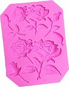 Depory - Stampo in Silicone a Forma di Rosa, 12 x