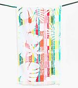 Desigual asciugamano Hands Exotic Stripes asciugamano di cotone blu 50/x 100/cm