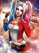 DIY 5D Diamond Painting Kit Harley Quinn Pittura