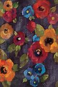 DIYCCY oil Painted Poppies 68,6 x 94 cm rosso