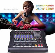 DJ Mixer Amplificatore 250w Stage Show Bluetooth