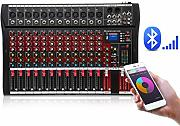 DJ Mixer USB riverbero Monitor Professional Tuner