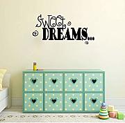 Dreams Motto Quote Decorazioni Per Camerette Da