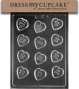 Dress My Cupcake - Stampo per caramelle al