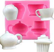 Dylandy stampo torta Cup Shape silicone Mold