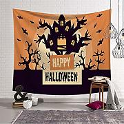 Eazyhurry Halloween Tapestry Wall Hanging arazzi