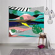 Eazyhurry Piante Verdi Tapestry Wall Hanging