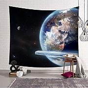 Eazyhurry Planet Tapestry Wall Hanging arazzi
