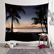 Eazyhurry Seascape Tapestry Wall Hanging arazzi