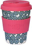 Tazza per caff/è da 340 ml Realizzata in Fibra di bamb/ù Coperchio antigoccia e Lavabile in lavastoviglie. Ecoffee Cup William Morris Blackthorn