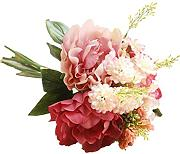 ENCOCO Peony wedding bouquet di fiori finti in