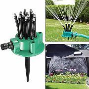 LOVIVER Sistema di Irrigazione per Irrigazione A Spruzzo per Irrigazione da Giardino A 3 Teste con Ugello Agricolo N 2