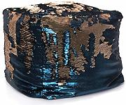 EUROCINSA Ref.18312 Pouf Magic-Touch, Blu, Oro,