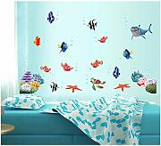 EWQHD Wonderful World Sea Adesivi Decorazione