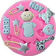 Fablcrew cute Baby forma torta stampo in silicone