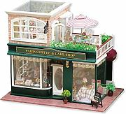 Fai da te Kit Dollhouse miniatura For romantico