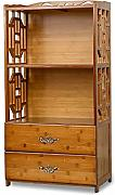 Feifei Libreria Bamboo Creative with Drawer