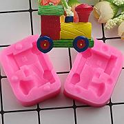 FGHHT 3D Toy Train    Stampi in Silicone