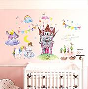 Fiaba World Princess Castle Wall Sticker PVC