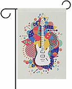 fingww Banner di Cantiere Colorful Music Guitar