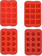 FishSmooth 4Pack Stampi Multiuso in Silicone per