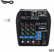 Fishyu Mini USB Audio Mixer Amplificatore