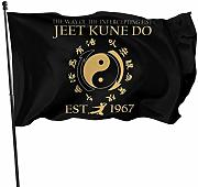 FLDONG Jeet Kune Do The Flag 7x5 Feet Decorazione