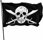 FLDONG Pirateflag Jolly Roger The Flag 7x1 piedi
