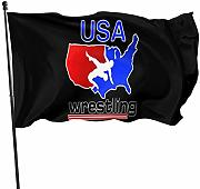 FLDONG USA Wrestling Tees The Flag 3x5 Feet