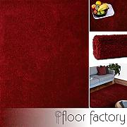 floor factory Tappeto Moderno Colors Rosso