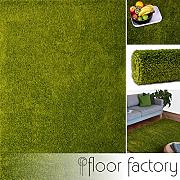 floor factory Tappeto moderno Colors verde