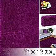 floor factory Tappeto moderno Colors viola