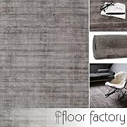 floor factory Tappeto Moderno Lounge Grigio