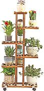 Flower Shelf with 6 Tiers Anticorrosive Plant