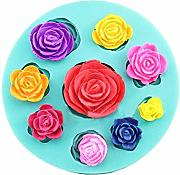 Flower Soap Mold decorazione torta al cioccolato