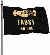 FOREVER ME Trust No One 4X6 piede Decorazione