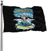 FOREVER ME US Navy Shellback 4X6 piede Decorazione