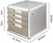 FPigSHS Cassettiera 4/5 Floor File Cabinets File