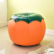 Funlea Creative Fruit Shape Leather Imbottito