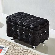 Funlea Nordic Luxury Washable Storage Ottoman Cube