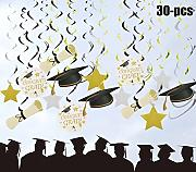 Funpa Graduation Decorazione, 30pcs Graduation
