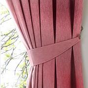 1102509 Elemento Decorativo per Tenda o Separ/è Arancione Trasparente Koziol Fusion B1